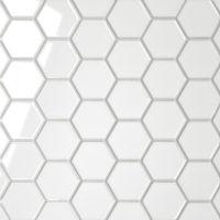 DECLEC22WG - Le Cafe Mosaic - White