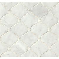MRBWHTCARARB-P - White Carrara Mosaic - White Carrara