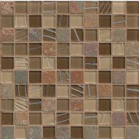 GLSELM0101-CN - Elume Mosaic - Chestnut