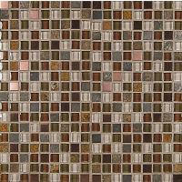 GLSELM5858-RS - Elume Mosaic - Ruby Silk
