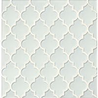 GLSMALWHLCAL - Mallorca Glass Mosaic - White Linen