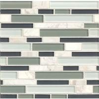 GLSMGTG3 - Tiffany Glass Mosaic Mosaic - Sterling