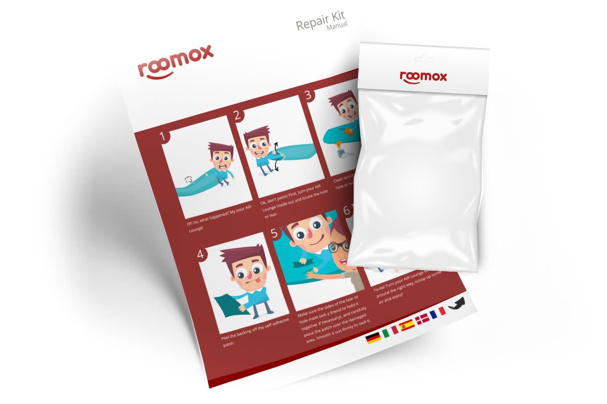 ROOMOX Air Lounge Repair Kit