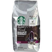 Starbucks French Roast Dark Whole Bean 100% Arabica Coffee
