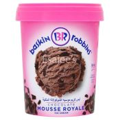 Baskin Robbins Chocolate Mousse Royale Ice Cream