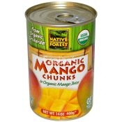 Native Forest Native Organic Mango Chunks