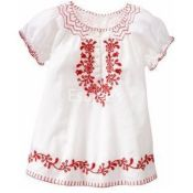 Gap Baby Girl Embroidered Top New Off White