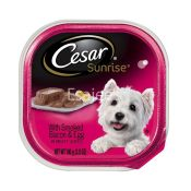 Cesar Sunrise Dog Food With Smoked Bacon & Egg In Meaty Juices