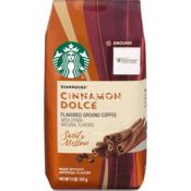 Starbucks Cinnamon Dolce Naturally Flavoured Ground Coffee