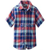 Oshkosh Bgosh Little Boys Check Woven Shirt