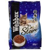 Webbox  Cat Food Cat Stars Complete