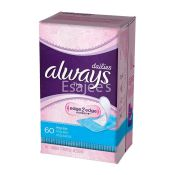 Always Pantyliners Thin Regular Lady Pads