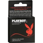 Playboy Condoms Lubricated Dotted