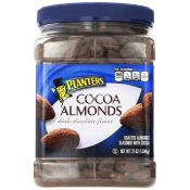 Planters Cocoa Almonds Dark Chocolate Jar