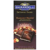 Ghirardelli  Hazelnut Heaven Intense Dark Chocolate Bar