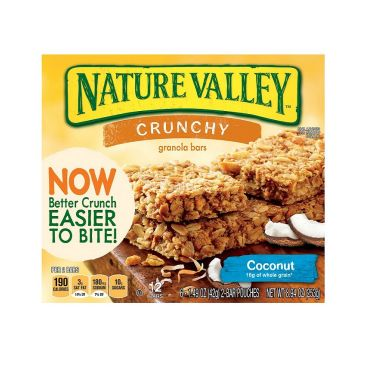 Nature Valley Crunchy Granola Bar Coconut