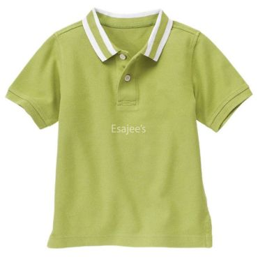 Gymboree Boy Short Sleeve Polo Shirt Green
