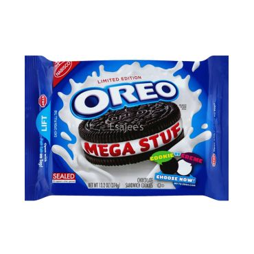Oreo Sandwich Chocolate Mega Stuf Cookies