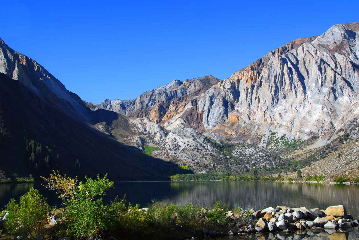 Convict Lake Campground California at Convict Lake Campground