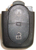 Празна кутийка за дистанционно за AUDI  с 2-бутонa