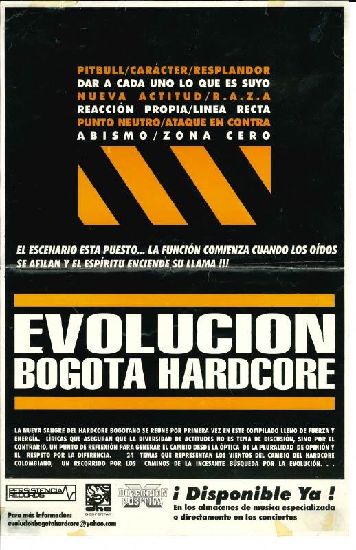 Evolución Bogotá Hardcore