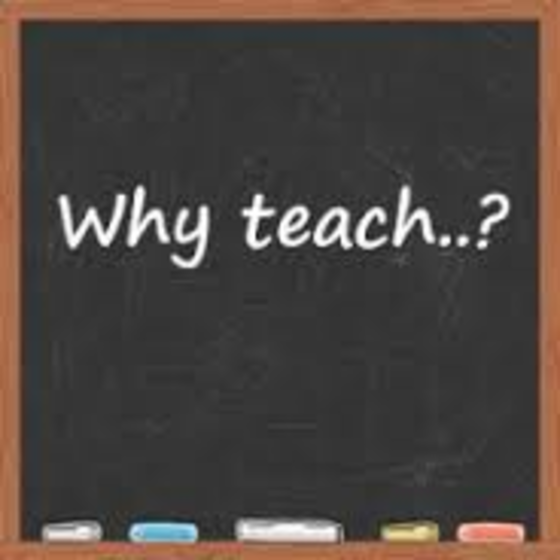 essay on why to be a teacher Lisa young humanities teacher high tech middle most people would define a good teacher as som.