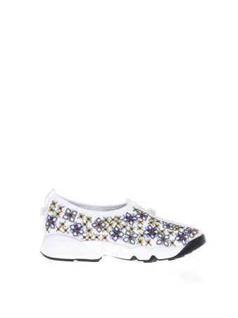 Dior Fusion Embellished Nylon Sneakers