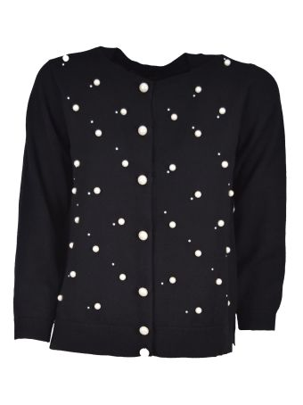 Marc Jacobs Pearl Embellished Cardigan