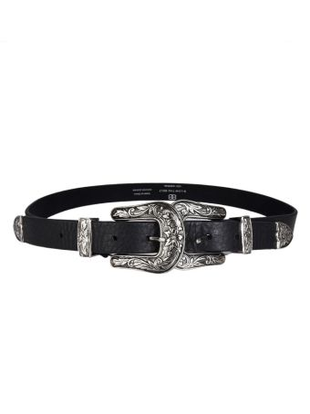 B-low The Belt Double Buckle Belt