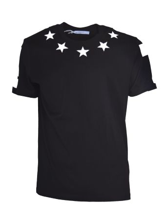 Givenchy Embroidered Stars T-shirt