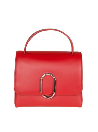 Phillip Lim Alix Mini Top Handle Satchel Leather Colore Red