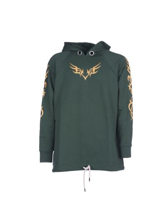 Palm Angels Tribal Oversize Hoodie