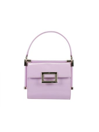 Mini Bag Miss Viv' Small Bag In Patent Leather With Removable Shoulder Strap