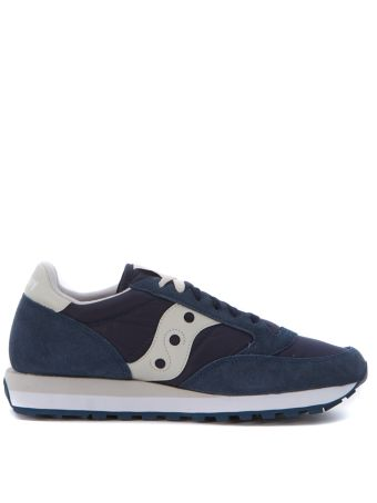 Sneaker Saucony Jazz In Blue Suede And Nylon