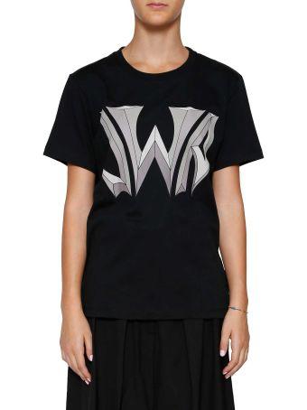 J.w. Anderson Logo Print T-shirt