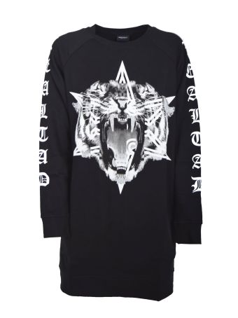 Marcelo Burlon Printed Long Sweatshirt