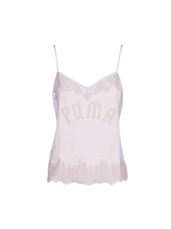 Puma Fenty By Rihanna Lace Trim Sleepwear Tank Top