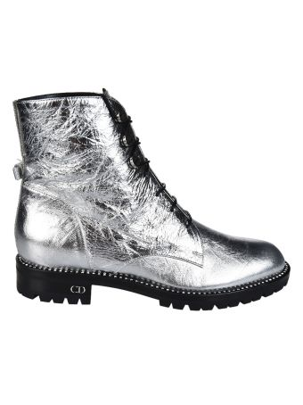 Dior Crinkled Ankle Boots