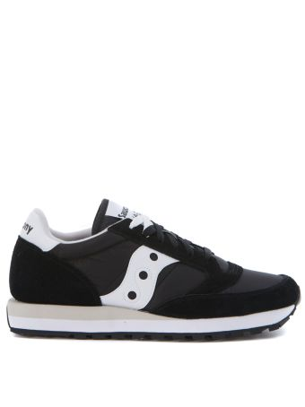 Sneaker Saucony Jazz In Suede And Black Nylon