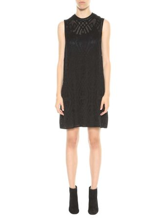 M Missoni See-through Knitted Dress