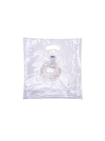 Mm6 Plastc Shopper Bag