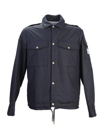Blue Techno-cotton Jacket