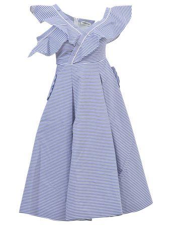 self-portrait Frills Midi Dress