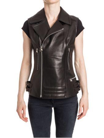 Philipp Plein Leather Vest Ushers