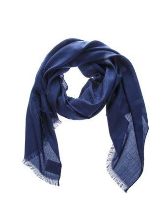 Fendi Double F Wool-silk Blend Scarf