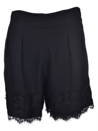 Federica Tosi Lace Hem Tailored Shorts