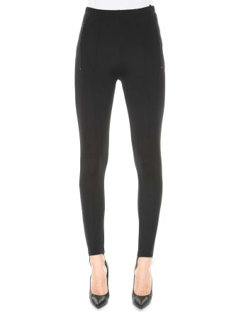 Balenciaga Jersey Leggings With Elastic Foot Band
