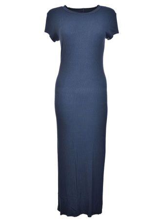 Enza Costa Rib Cap Sleeve Dress