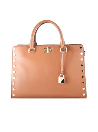 Michael Michael Kors Sylvie Large Studded Tote Bag