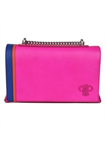 Emilio Pucci Paneled Shoulder Bag